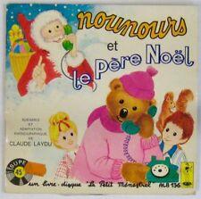 Bonne nuit les Petits 45 tours Livre-Disque Nounours et le Père Noël 1976