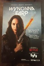 WonderCon 2017 WYNONNA EARP Peacemaker SYFY RARE LIMITED POSTER 11x17 Inches