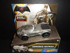 Hot Wheels Batman v Superman DC Universe Armored Batman Vehicle   NEW