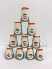 Pepsi Old Vintage Wax Paper Cup Lot 10 Cups Soda Pop Dixie Continental Can Co.