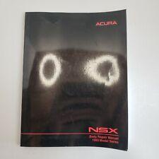1993 Acura Nsx Factory Shop Service Repair Manual Body 3.0L V6