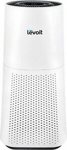 Levoit - Airzone 710 Sq. Ft True HEPA Air Purifier - White