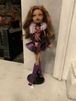 MONSTER HIGH 2008 Clawdeen Wolf Original Ghouls Dolls CFC62 H161 1186MJ1NL Claud