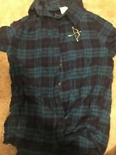 Shop Disney Merida brave flannel shirt size medium
