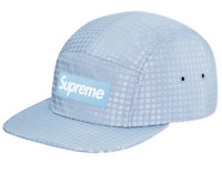 621627529 SUPREME BOX LOGO LIQUID METAL CAMP CAP BLUE SOLD OUT DROP HYPE ...