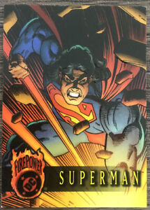 DC Firepower Trading Card - #1 Superman