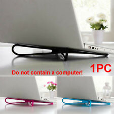 Laptop Stand Bracket Holder Notebook Desk Tablet Pad Dock PC Plastic 35*5*0.8cm