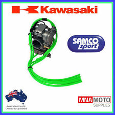 KAWASAKI KX250F SAMCO CARBY OVERFLOW BREATHER HOSE CARBURETTOR KIT GREEN KXF250