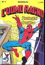 L'UOMO RAGNO RACCOLTA n° 1 - Star Comics - 1987