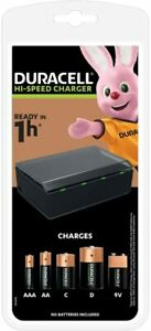 Duracell Hi-Speed Universal Charger CEF22 - AA AAA C D & 9V Rechargeable Battery