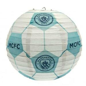 Manchester City FC Bedroom Ceiling Paper Football Light Shade Official Team