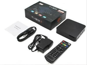 TV Box Android  Media Player 1080P 4K Quad Core Smart