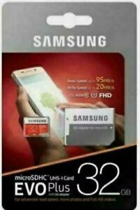 SAMSUNG Evo Plus Class 10 microSD Memory Card - 32 GB -