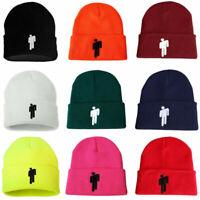12 Color Billie Eilish Beanie Hot Topic Knit Hat Stretchy Cap Women Men Knit Hat
