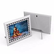 HD 720P Photo Frame Hidden Spy Camera Night Vision Motion Activated Nanny Cam