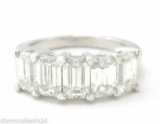 Platinum Band 2.00 - 4.99 Fine Diamond Rings