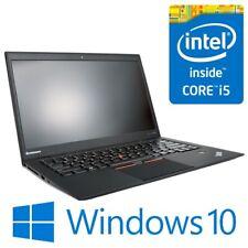 "Lenovo ThinkPad X1 Carbon Intel i5 3427U 4G 256 SSD 14"" LED Win 10 Pro Cam Modem"