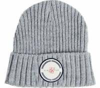 Sik Silk SikSilk Rib Cuff Knitted Beanie Hat Grey