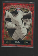 NELLIE FOX  2013 PANINI COOPERSTOWN RED CRYSTAL CARD #61   /399