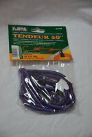 World Famous #2106 shock cords 50 inches ( 1 per package ) blue (store#bte25)