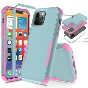 For iPhone 12 11 Pro Max XR Max 6 6 Plus Case Heavy Duty Shockproof Armor Cover