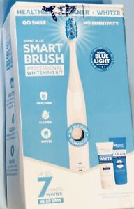 Go smile Sonic Blue Smart Brush Whitening Kit (Healthier, Cleaner, Whiter)