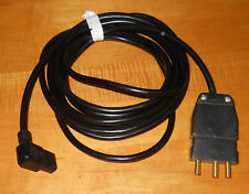 Power Cable 20AMP Stage Pin Male Bates to IEC Female 15 Ft.