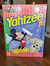 Milton Bradley Mickey Mouse Yahtzee Jr Game Vintage 1999 Sealed
