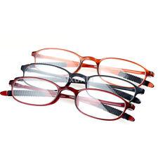 Nuovo Unisex TR90 Donna Uomo Flessibile Occhiali da Lettura Forza Presbiti