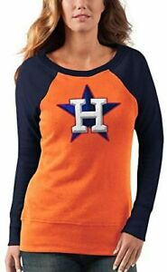 G-III 4her Houston Astros Women's Top Ranking Tunic Fleece Sweatshirt