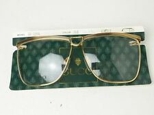 80s Nos Vintage Gucci Eyeglasses Made in Italy Rear Mint Perfect Original