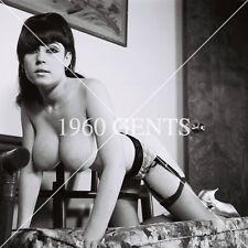 1970s 8X10 NUDE BUSTY BIG AREOLAS LINDE FREIDERIX PHOTO FROM ORIGINAL NEG-1