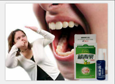 5pcs/lot BACTERIOSTATIC ORAL SPRAY STOP BAD BREATH STENCH GET FRESH CLEAN MOUTH