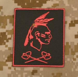"Authentic DEVGRU ST6 Red Squadron ""Tribe"" Retro Patch - SEAL NSWDG SOF NSW"