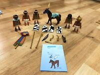 Playmobil 4245 Complete Set Egyptian Soldiers Troop with Horse & Weapons