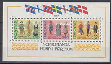 Färöer Block 1 postfrisch Haus des Nordens Toeshavn