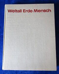 Weltall, Erde, Mensch - Jugendweihebuch DDR - 1969 Verlag Neues Leben DDR