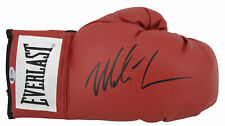 Mike Tyson Authentic Signed Red Everlast Boxing Glove w/ Black Signature BAS