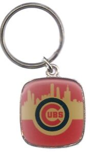 Chicago Cubs Keychain City Key Chain