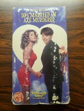 So I Married an Axe Murderer (1993) - VHS Movie Comedy Mike Myers Nancy Travis