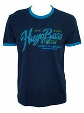 HUGO BOSS Cotton Blend Crew Neck Slim Fit T-Shirts for Men