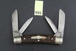 Boker, Solingen, Vintage Bone Congress Pocket Knife 1935