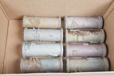8x Musterwalzen Malerwalzen Strukturwalze 50er Jahre  - 15cm Gummi weich - 6686
