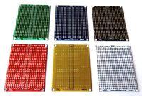 Double Sided 5x7cm PCB Copper Matrix Prototyping Stripboard Breadboard UK Seller