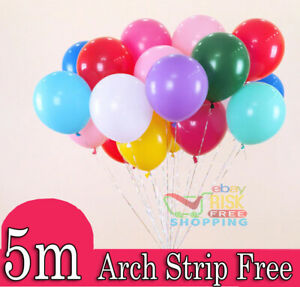 25 X Latex PLAIN BALLOONS BALLONS helium Quality Party Birthday Colourful BALOON