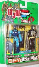 GI joe 2003 SHOCKWAVE Swat WIDE SCOPE cobra BAT v3.2 spy troops spytroops moc