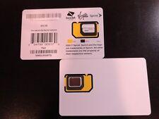 NEW SPRINT SIMOLW506TQ  BYOD TRIPLE CUT SIM CARD BOOST,TELLO,TING