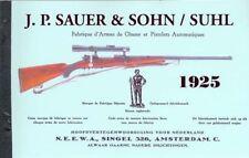 JP Sauer & Sohn - Suhl Rifles, Pistols, Guns 1925 Catalog
