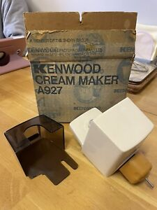kenwood chef cream maker