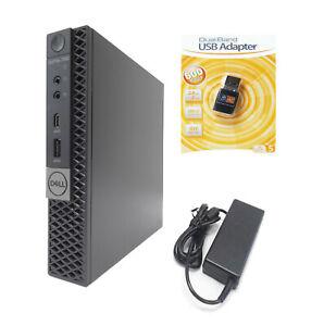 Dell 7060 Micro Desktop PC i7-8700t 6-Core 2.40/4.30GHz 16GB 512GB NVMe SSD WIFI